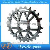 CNC Billet Aluminum aluminum cnc 5mm 25t bmx bicycle sprocket for most motor and automobile