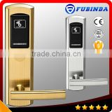 rfid security electric handle safe digital smart keyless hotel card key lock system                                                                         Quality Choice