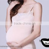 Realistic Silicone Fake pregnant belly 2000g soft cloth bag belly for crossdresser free shipping