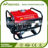 Phonex 1.1KVA 1100W Copper Generator Coil Gasoline Recoil Starter 3HP Mobile Power Supply with Anti-loose Socket