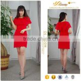 Chinese red bodycon changeable neckline full of strenth lace latest fashion dress design