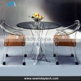 OEM acrylic dining chair transparent acrylic chair high quingity acrylic furniture table chair
