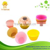 Food grade Greaseproof Muffin Cups Muffin Cup silicone baking cups