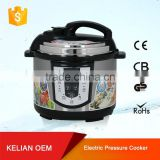 silicone egg electric pressure cooker with stainless steel inner pot for car 4 liter