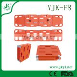 YJK-F8 2016 strong and durable of plastic ambulance spine board