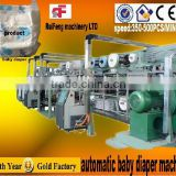RF-NKB automatic servo machine make baby diaper