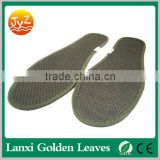 Soft massage insole Fiber bamboo Charcoal ergonomic silicone gel high heel cushion