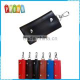 Wholesale genuine leather business key case holder bag, Automotive leather key bag