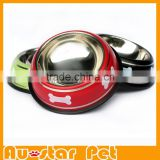 Wholesale Pet Accessories from China Dog Grooming Supplies Suction Cup Pet Bowl Stainless Steel