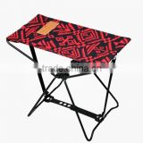 NOMADE CAMPING MINI FOLDING IRON STOOL