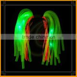 Lighted hair dreadlocks christmas led