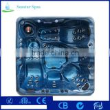 2016 New Design 5 Years Warranty Acrylic Balboa Whirlpool Massage Function Hot Tub Spa From China Factory