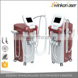 2017 professional Elight + SHR + Nd:yag laser + RF technology lightsheer laser hair removal machine for sale