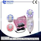 Beauty instrument ion whitening pale spot household acne removing wave ultrasonic cleansing instrument import and export machine