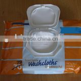 Housing wet wipes(spunlace nonwoven wipe , wet wipes of ladies' )