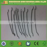 Round Hooked Ending Steel Fiber For Concrete Reinforcement