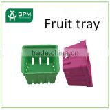 Promotion Gift Package Molded Paper Pulp Berry Basket For Party Favors