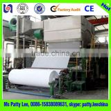 1092mm New condition facial paper and tissue toilet paper pulp making equipment machinery