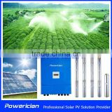 5.5KW Solar Deep Well Pump System Auto Agricultural Sprinkler Irrigation System For Center Pivot NO. AK42-26-5K5