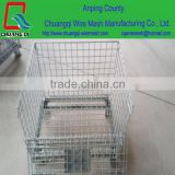 Heavy Duty Scale and Wire Container Type wire shelving security cart warehouse storage carts