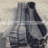 Cheap mini excavator rubber track rubber tracks for lawn mower or construction machinery