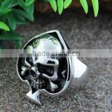 custom stainless steel rings masonic signet ring fashion made in china