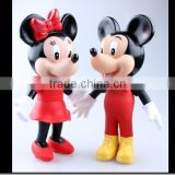 custom mouse plastic figure, customized vinvyl toys,classic america cartoon vinyl toy figure