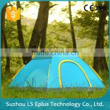 Suzhou Lightweight Portable 3-4 Outdoor Camping Family Tent