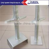 Adjustable Steel Prop Scaffolding Base Jack Linyi Scaffolding Adjustable Screw Base Jack