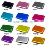 Waterproof Business ID Credit Card Wallet Holder Aluminum Metal id Card Holder Case Box Yoyo id Card Holder