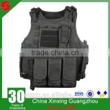 Black Khaki Multi-function 600D Oxford Polyester Military tactical army combat vest;assault vest