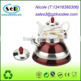 Best Premium Stove Top Teapot Whistling 18/10 Stainless Steel Tea Kettle