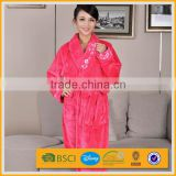 100% polyester coral fleece custom boxing robe with hood