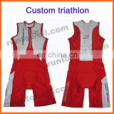2013 custom design triathlon training / triathlon bathing suits / mens triathlon suit