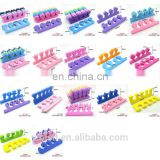 Soft EVA Two Tone Toe nail Separators Spacers, Great Toe Cushions, Apply Nail Polish During Pedicure and Other Uses#ET