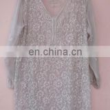 Indian Summer Blouse handmade embroidery indian tunic for girl's