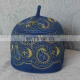 muslim wool embroidery prayer cap muslim mens prayer caps