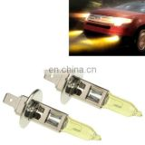 2 X HOD Xenon Bulbs H1 12V 100W 6000K Yellow Light Headlights