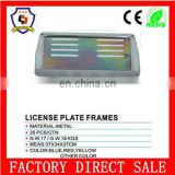 37*34*37cm promotional wholesale metal license plate frame ( license plate frame -005)
