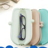 Fashion Silicone Bag Mobile Storage Pouch Eyeglasses Coin Case