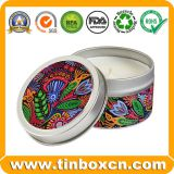 OEM Gift Packaging Box Candle Tin For Travel