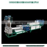 PET bottle plastic crushing recycling machines washing line plastic pelletizing machine line 500kg/hr-2000Kg/hr
