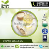 Natural Vitamin and Mineral Rich Sesame Oil for Hair Conditioning