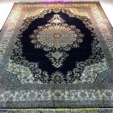5'x8' handmade silk persian carpet and rug for hot sale