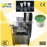 Factory price rotary cold tea/yogurt cup filling sealing machine made in China                                                                         Quality Choice