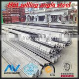 hot sale materials hot rolled mild carbon angle steel bar from shanghai factory of china