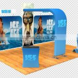Wholesale top quality low price advertising backdrop banner, aluminum frame 100% poylester