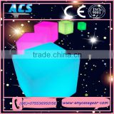 ACS Color changing LED bar furniture night club illuminated led cube