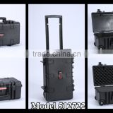 Tsunami Molded PP Hard Plastic camera Carrying Case with foam insert