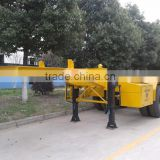 china famouse factory made container semi trailer,2 axles and 3axles new semi trailer price